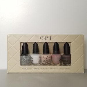 OPI: Perfect 5 Nudes